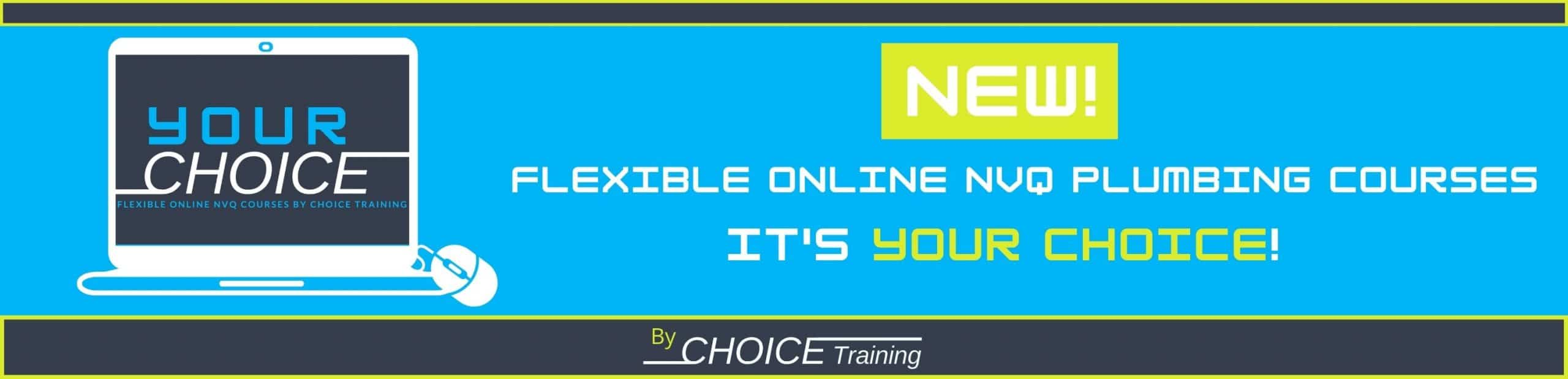 YOUR CHOICE by Choice Training Home page slide 1 Online NVQ info