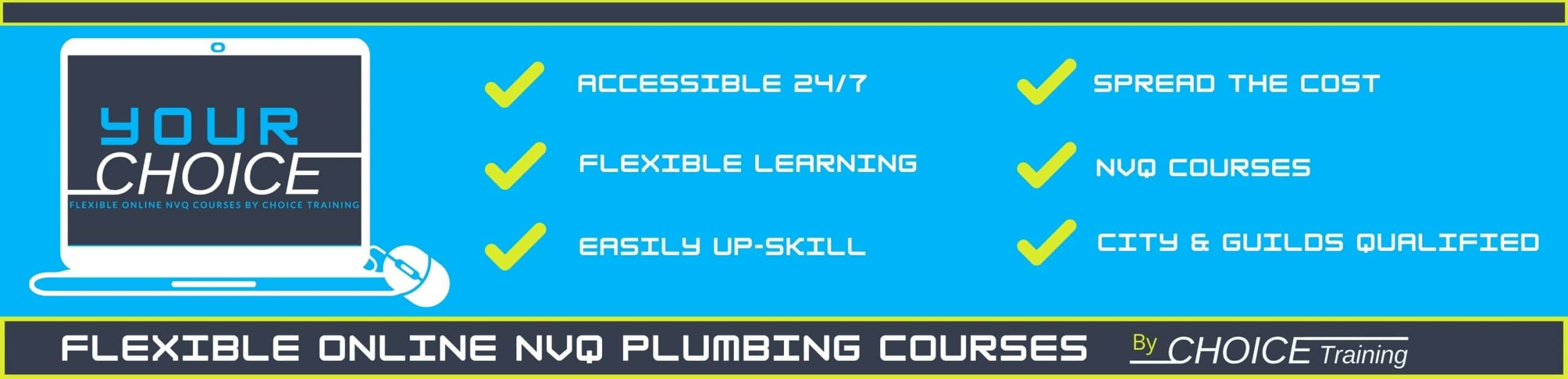 YOUR CHOICE by Choice Training Home page slide 2 Online NVQ info